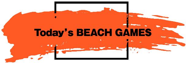 BEACH GAMES 一覧